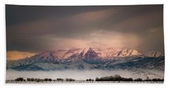 Timpanogos Rising Bath Towel