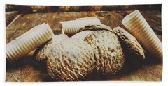 Tin Sign Baked Butter Biscuits Hand Towel