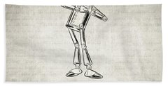 Tin Woodman - Wizard Of Oz Quote Hand Towel