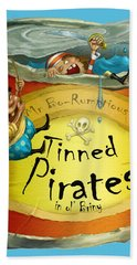 Tinned Pirates Hand Towel