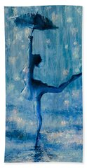 Tiny Dancer Hand Towel by Mark Tonelli