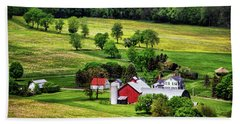 Tioga County Farmstead Hand Towel