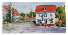 Salty Market, North Truro Bath Towel