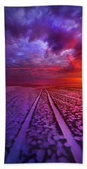 Hand Towel featuring the photograph To All Ends Of The World by Phil Koch