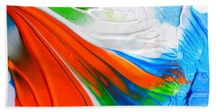 Bath Towel featuring the painting To Da Sea by Fred Wilson