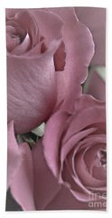 To My Sweetheart Bath Towel by Sherry Hallemeier