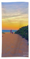 To The Beach Bath Towel by Todd Breitling