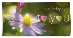 To You #003 Hand Towel