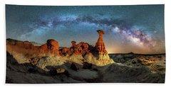 Toadstool Milky Way Pano Hand Towel