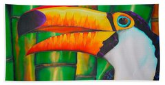 Toco Toucan Hand Towel