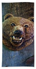 Together Again Bath Towel by Ron Haist