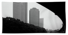 Tokyo Bridge Skyline Bath Towel
