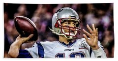 Tom Brady - Touchdown Hand Towel