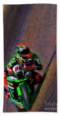 Tom Sykes 2016 Kawasaki Bath Towel