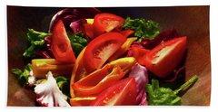 Tomato Salad Bath Towel