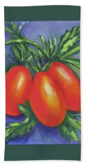 Tomato Seed Packet Hand Towel