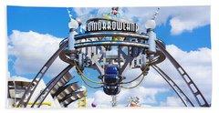 Tomorrowland Bath Towel by Greg Fortier