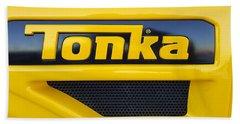 Tonka Truck Logo Bath Towel