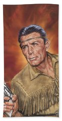 Tonto - Jay Silverheels Bath Towel