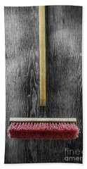 Bath Towel featuring the photograph Tools On Wood 14 On Bw by YoPedro