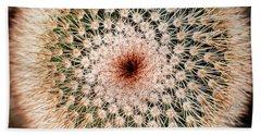 Top Of Cactus Bath Towel