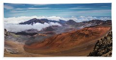 Top Of Haleakala Crater Hand Towel