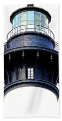 Top Of The Lighthouse Hand Towel by Shelia Kempf