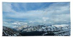 Top Of The Rockies Hand Towel