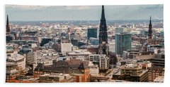 Top View Of Hamburg Hand Towel