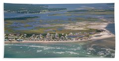 Topsail Island Migratory Model Bath Towel