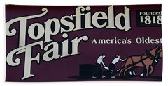 Topsfield Fair 1818 Bath Towel
