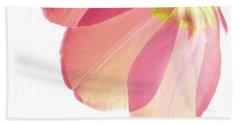 Topsy Turvy Tulip Hand Towel by Angela Davies