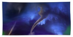 Tornado Storm 2 - Collage Hand Towel