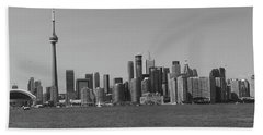 Toronto Cistyscape Bw Hand Towel