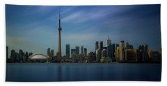 Toronto Cityscape Hand Towel