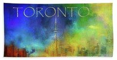 Toronto - Cityscape Hand Towel