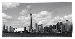 Toronto Skyline 11 Bath Towel