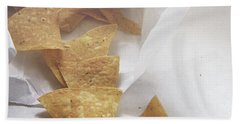 Tortilla Chips- Photo By Linda Woods Hand Towel