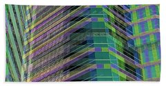 Abstract Angles Hand Towel