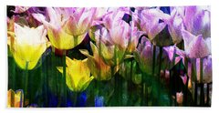 Totally Tulips Hand Towel