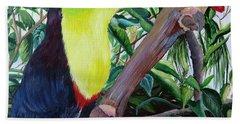 Toucan Portrait Hand Towel