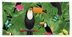 Toucan Tropic  Hand Towel