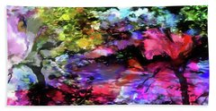 Touch Of Monet Hand Towel