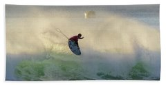Bath Towel featuring the photograph Touch The Sun by Thierry Bouriat
