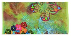 Touched By Enchantment Hand Towel by Donna Blackhall