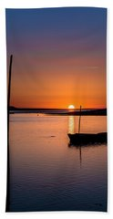 Touched By The Sun Bath Towel by Edgar Laureano