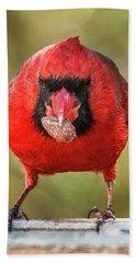 Tough Guy Cardinal Bath Towel