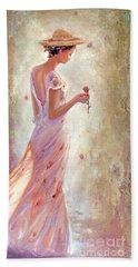 Toujours De Fleurs Bath Towel