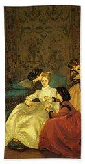 Toulmouche Auguste The Reluctant Bride Bath Towel