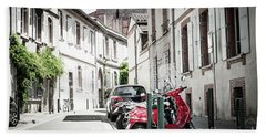 Bath Towel featuring the photograph Toulouse Street by Elena Elisseeva